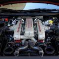 Silnik w samochodzie marki ferrari